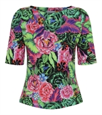 556 Another Flourescent night bluse fra Dazzle Me - Tinashjem